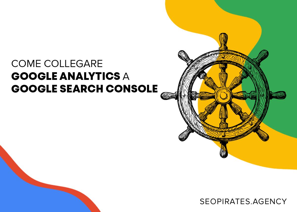 Come collegare google analytics a google search - copertina