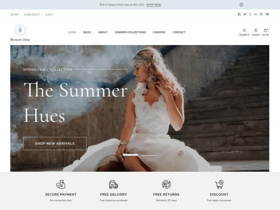 blossom shop i migliori temi wordpress ecommerce