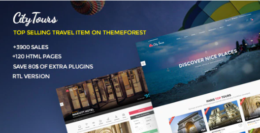 citytours i migliori temi wordpress per hotel