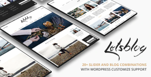 lets blog i migliori temi wordpress per blog