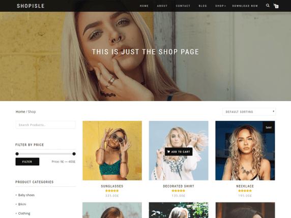 shopisle migliori temi wordpress ecommerce