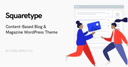 squaretype blog i migliori temi wordpress per blog