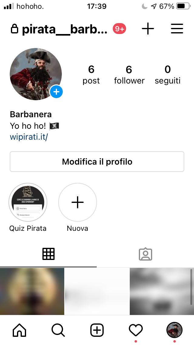 cambiare nome su instagram telefono modifica il profilo
