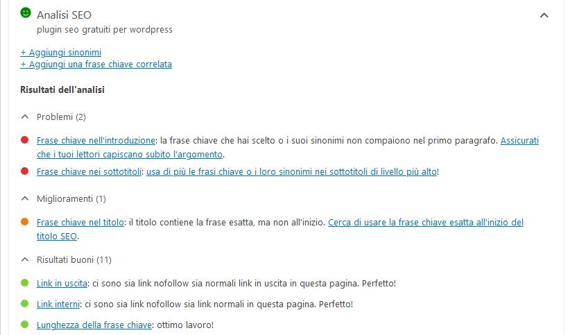 i migliori plugin seo gratuiti per wordpress yoas seo