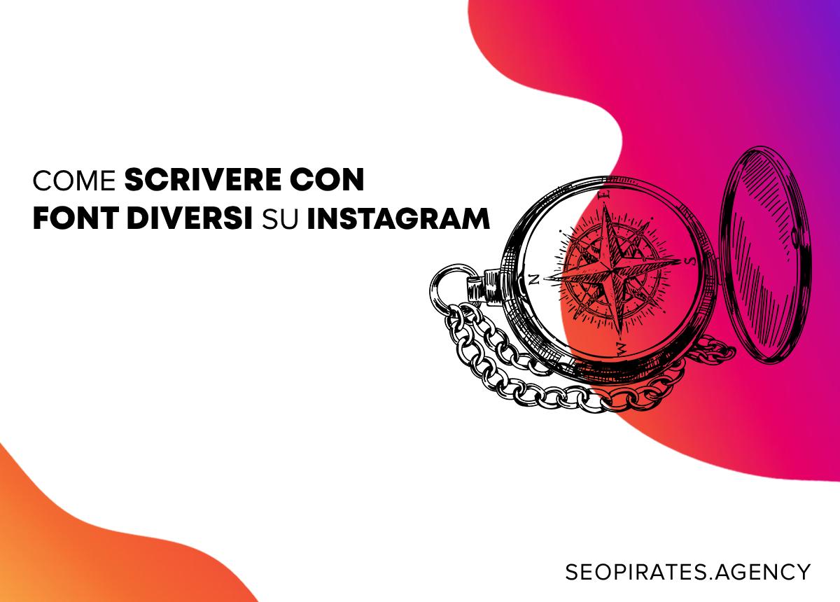come scrivere con font diversi su instagram